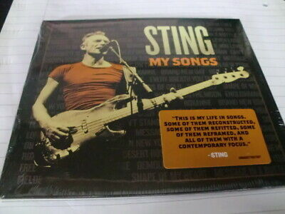 STING ~ MY SONGS (BEST OF RECONSTRUCTED) 2019 CD *NEW/SEALED* 99p!!!!!!!!!!!!!!