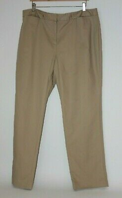 Womens Pants Size 18 - Charter Club Pant Shop Khakis - Camel / Light Brown
