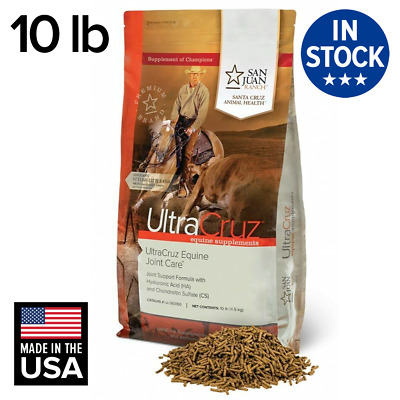 UltraCruz Equine Joint Supplement for Horses, 10 lb Pellet (89 Day Supply)