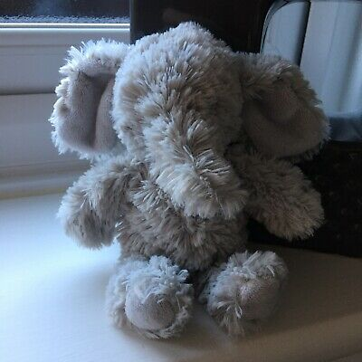 Marks Snd Spencer Small Grey Elephant Soft Comfort Toy