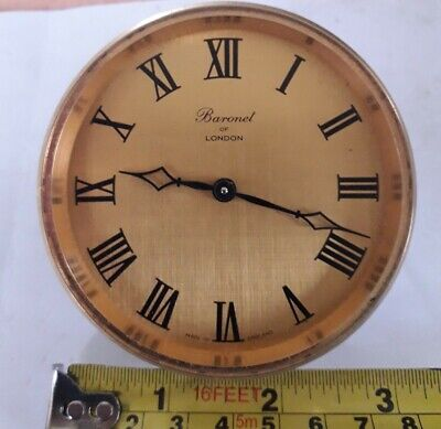 Vintage Baronel of London Clock Movement And Dial