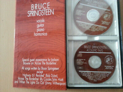 Bruce Springsteen Acoustic Tales très rare longbox 2cd (The Swingin Pig Records)