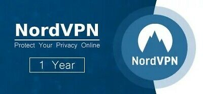 Nord VPN 1 Year REAL ACCOUNT Pro Subscription Fast Delivery