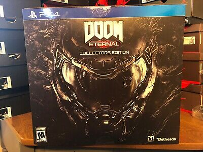 Doom Eternal Collector's Edition --Playstation / PS4 includes Helmet IN HAND