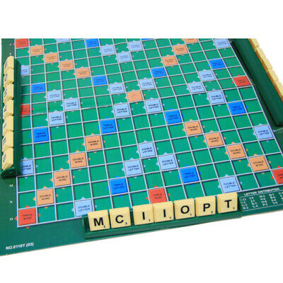 Hot! Original Scrabble Board Game Family Kids Adult Educational Toys Puzzle Game