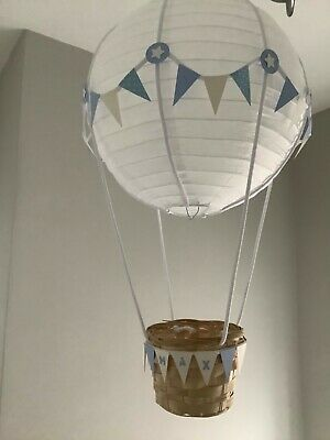Hot Air Balloon nursery Light shade. PERSONALISED