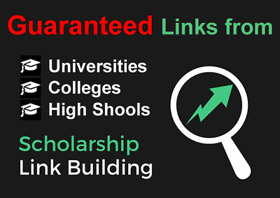 10 x Edu Scholarship Links from Colleges and Universities