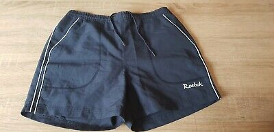 Reebok Navy Blue Sport Shorts UK Size 12