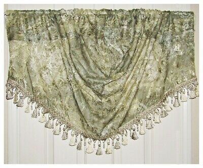 Royal Velvet Rome Trumpet Valance (1)pc