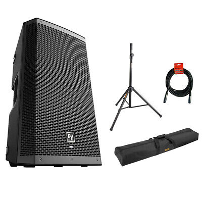 Electro-Voice ZLX-12BT Bluetooth Loudspeaker w/ Stand, Bag & Cable