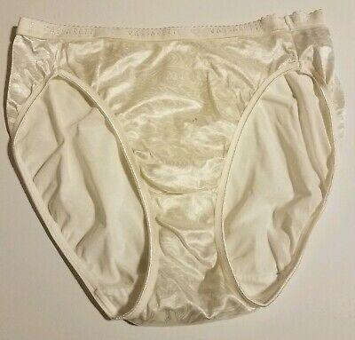 Vintage Vassarette Satin Second Skin Signature Panties SWIRL SZ 7 / Large FT-191