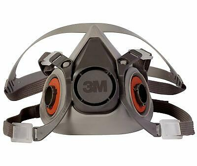 3M 6200 reusable Respirator Painting Spraying half Face, One size, Free Shipping