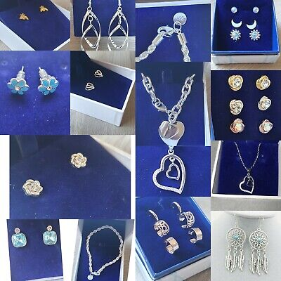 JOB LOT Jewellery, Silver, Plate, Alloy, Necklace Rings, £4.99 Random 2 Items