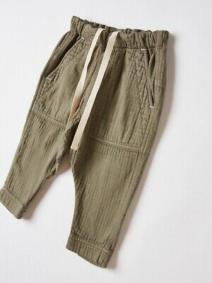 Bassike Mini Herringbone Pant- Excellent Condition - Size 1