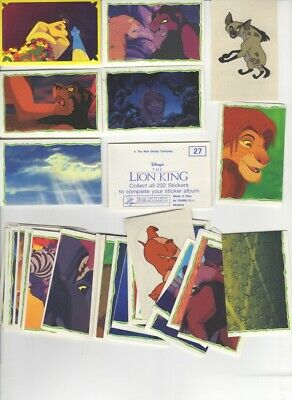 Panini. Lion King 59 stickers