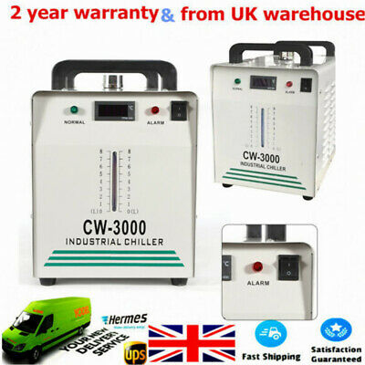 CW-3000 Industrial Water Chiller For CO2 Glass Laser Tube of the Laser Engraver!