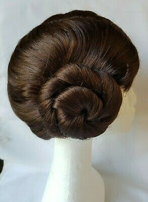 Star Wars Princess Leia Buns Brown Wig -Rubie's Costume Adult Accessory Dress-Up