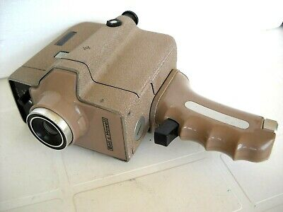 **1960`s BELL & HOWELL AUTOMATIC AUTOLOAD 8mm CINE CAMERA, MOTOR WORKING OK **