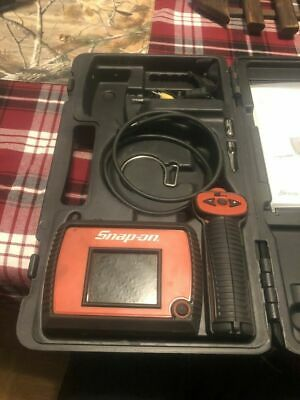 FREE SHIPPING! Snap-on wireless borescope kit bk5500w very good cond. with acc.