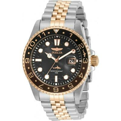 Invicta 30626 Pro Diver 43MM Men's Rose-Tone and Silver Stainless Steel Watch
