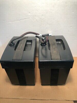 Pride JAZZY 1113 power wheelchair U1 battery box & Lid harness w/Cables strap TM
