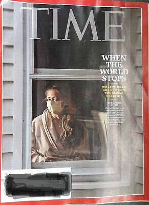 Time Magazine MARCH 30 2020 When the World Stops PRE-OWNED