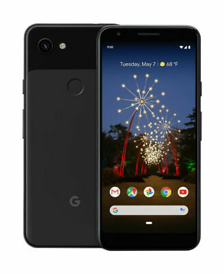Google Pixel 3a - 64GB - Just Black (Unlocked) (Factory Sealed)