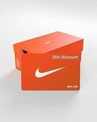 Nike | 25% Discount Code For Nike.com | Eu/Uk | €500 Shopcredit | Free Shipping