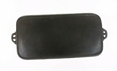 """Antique1905-1920 Cast Iron 25"""" Long Griddle #10 Marked X Y 9 Clean & Seasoned"""