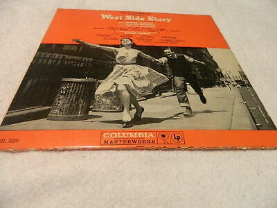 Vintage Music From West Side Story Vinyl LP Record Album Columbia Records