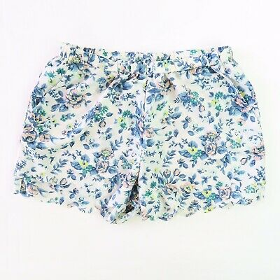 Anthropologie By Eloise Floral Pleated Pajama Shorts Size S