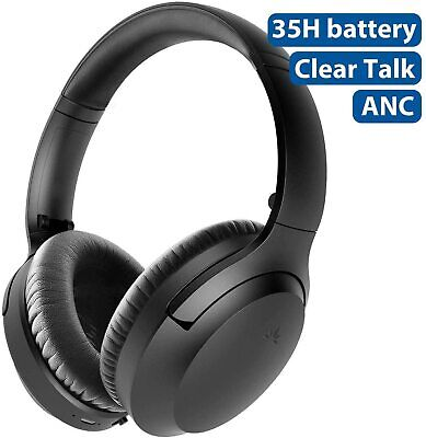 Avantree Aria Bluetooth Active Noise Cancelling Headphones with Mic 2020