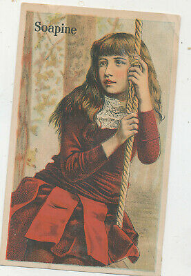 D2501  Victorian Trade Card Soap Soapine
