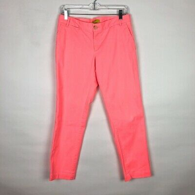 Banana Republic Women's Milly Collection Ankle Chino Pants Size 4 D373