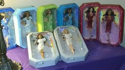 Barbie Birthstone Beauties 8 Doll Lot