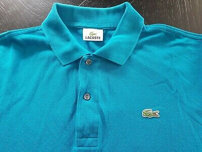 Lacoste Mens Polo Size 5 Green GREAT CONDITION