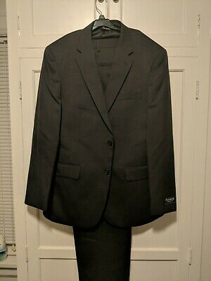 NWT Jos A Banks 41R Traditional Fit Grey 2-Piece Suit