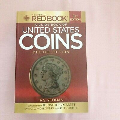 A GUIDE BOOK OF UNITED STATES COINS Deluxe 1st Edition Coin Numismatic Book 2015