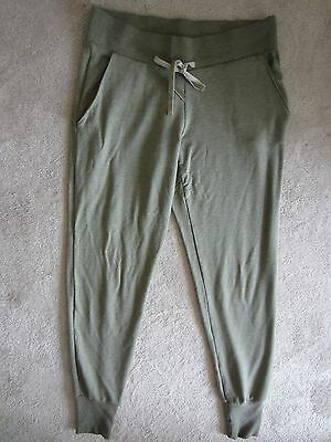 Victorias Secret Vs Green Drawstring Lounge Sweatpants Skinny Pants Xsmall Nwt