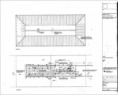 "10""x8"" (25x20cm) Print Cathcart Station - Roof Plan a Station Pla..."
