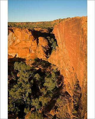 "10""x8"" (25x20cm) Print of Enormous Kings Canyon in outback Australia"