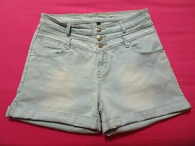 CiTY CHiC ::: Women's Summer Denim Shorts : Size 14 : GoRGEOUS
