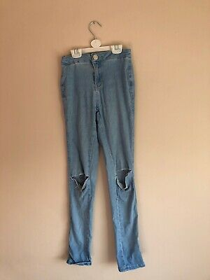 Newlook Girls 915 High Waisted Jeans Age 12
