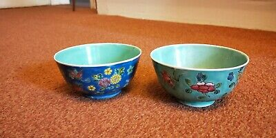2 early 20th centry Chinese porcelain bowls