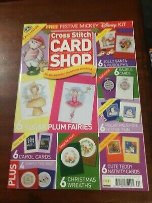 Cross Stitch Card Shop magazine Issue 44 + free gift Mickey Mouse
