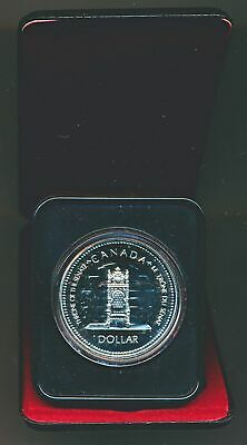 Canada: 1977 $1 Silver QEII Coronation Silver Jubilee Proof-like in Mint Case