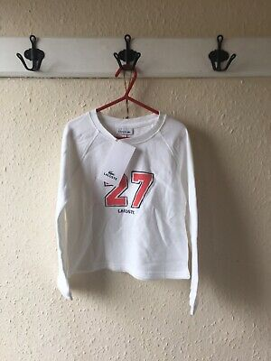 Girls Lacoste Brand New age 6 Jumper New With Labels