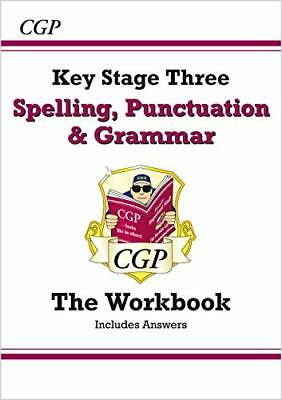 Spelling Punctuation and Grammar for KS3 - Workb by CGP Books New Paperback Book