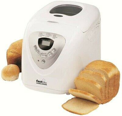 Morphy Richards Fastbake Breadmaker 600W - White(BRAND-NEW).