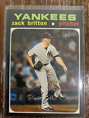 2020 Topps Heritage Zach Britton High Number SP #460